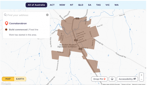 NBN rollout map